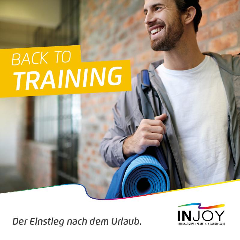 Back to training
